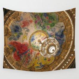 Opera Garnier Paris Wall Tapestry