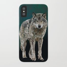 WOLF: THE SILVER HUNTER iPhone Case