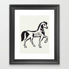 Horse - Animal Series Framed Art Print