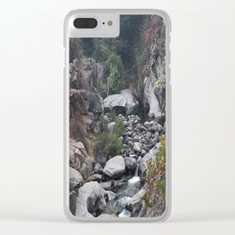 Fresh Air Clear iPhone Case