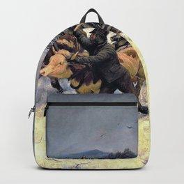 Rudolf Koller - Schlittenfahrt - Digital Remastered Edition Backpack