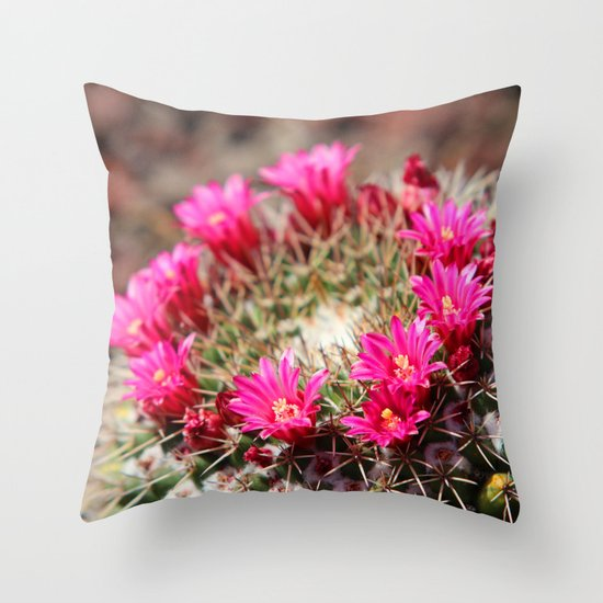 Painful Beauty  Throw Pillow