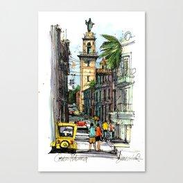 Central Havana Canvas Print