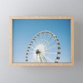 fun wheel of the valley Framed Mini Art Print