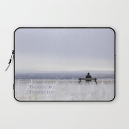 Winter walk; Room to breathe Laptop Sleeve