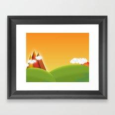 Countryside Revisited Framed Art Print