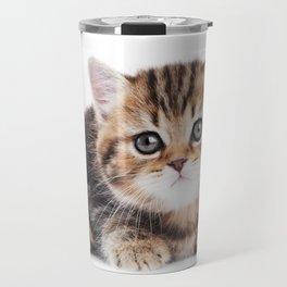 Lonely Kitten Travel Mug