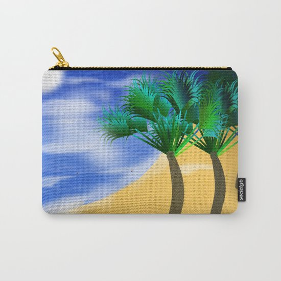 Beach Reverie Carry-All Pouch