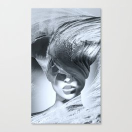 Wave girl Canvas Print