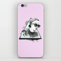 shinee iPhone & iPod Skins featuring SHINee realjonghyun90  by sophillustration