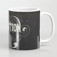 revolution Mugs featuring Revolution by Mobe13