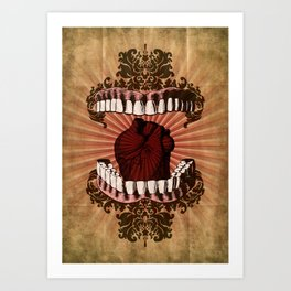 What Color is Your Soul? Art Print