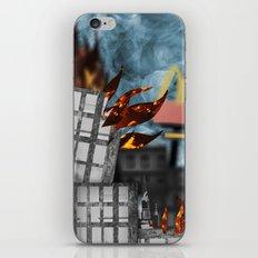 Hell Fire & McDonalds iPhone & iPod Skin