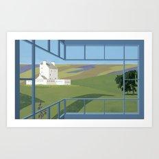 Corgraff Castle Art Print