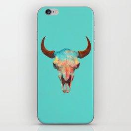 Turquoise Sky iPhone Skin