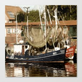 Trawler - Greetsiel Canvas Print