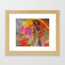 Get colored Framed Art Print