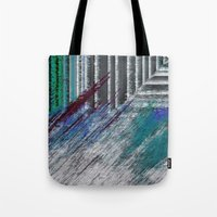 data Tote Bags featuring Data by MonsterBrown