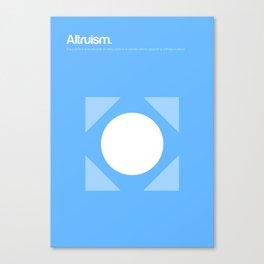Altruism Canvas Print