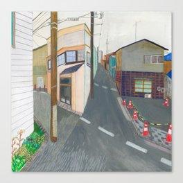 Nisja: tokyo 3 Canvas Print