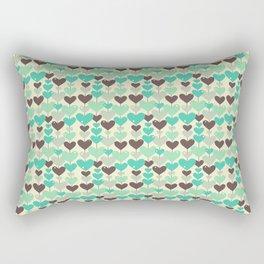 Abstract Love Rectangular Pillow