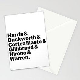 nasty women: senators Stationery Cards