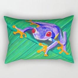 Tree Frog Rectangular Pillow