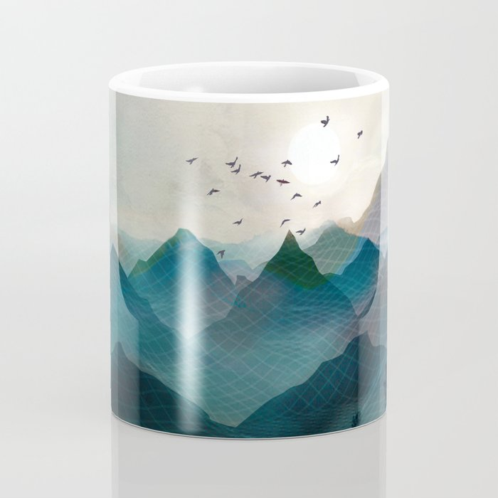 Mountain Sunrise II Coffee Mug