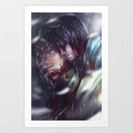 SasuNaru Art Print