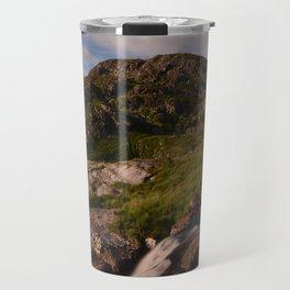 Countryside Waterfall Travel Mug