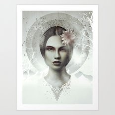 Gaia: The Earth Goddess Art Print