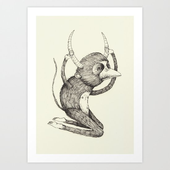 'Freak' Art Print