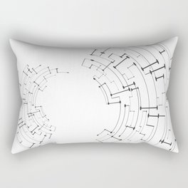 Modern lines II Rectangular Pillow
