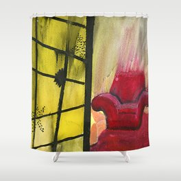 Who Killed Ken Shower Curtain