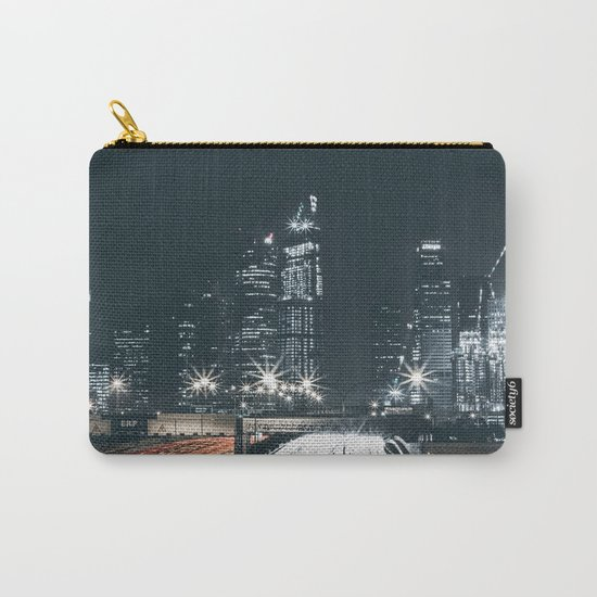 Night city long exposure Carry-All Pouch