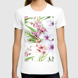 Tropical Floral Pattern 06 T-shirt