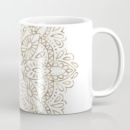 Mandala Gold Coffee Mug