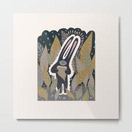 Leaf Eater Metal Print
