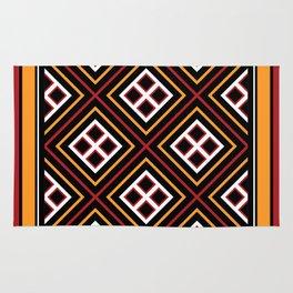Toraja Pattern pa're'po' sanguba ( dancing alone ) Rug