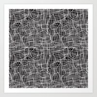 grid Art Prints featuring Grid by ChantalNathalie