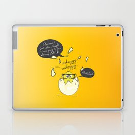 #Hatched Laptop & iPad Skin