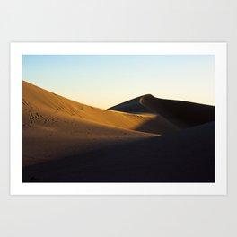 California Dunes Art Print