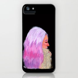 Pink Hair! iPhone Case
