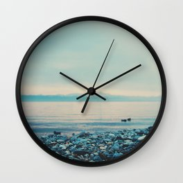 as the sun goes down ... Wall Clock