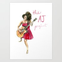 The AJ Project Art Print