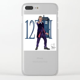 12th Doctor Clear iPhone Case