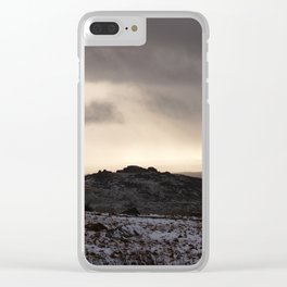 A Tour in Winter Clear iPhone Case