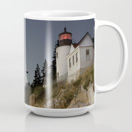 Bass Harbor Head Lighthouse Acadia National Park Coffee Mug