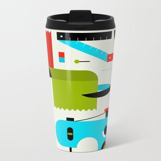Sewing Kit Metal Travel Mug