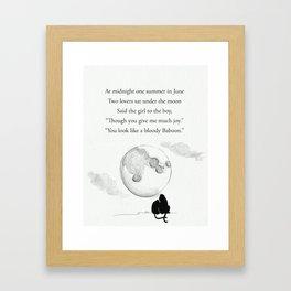 Baboons Framed Art Print